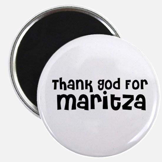 Thank God For Maritza Magnet