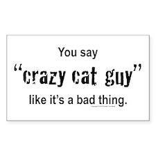 Cat guy Decal