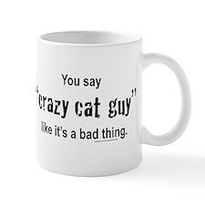 Cat guy Small Mug