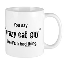 Cat guy Small Mugs