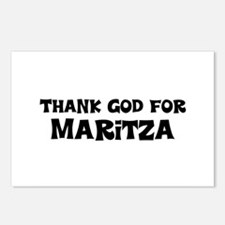 Thank God For Maritza Postcards (Package of 8)