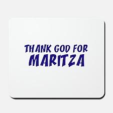 Thank God For Maritza Mousepad