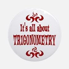 Trigonometry Ornament (Round)