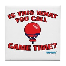 Game Time Tile Coaster