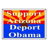 Deport obama Banners
