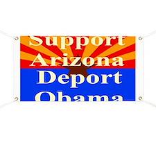 Arizona Deport Obama Banner