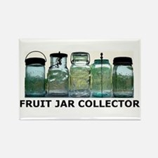 FRUIT JAR COLLECTOR Rectangle Magnet