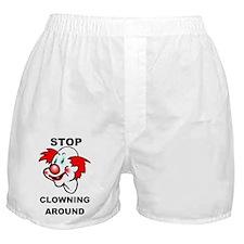 Cute Biker club Boxer Shorts
