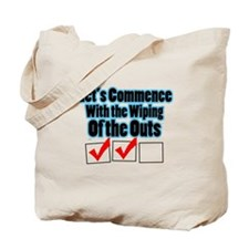 Let's Commence Tote Bag