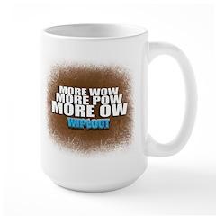 Wipeout More Wow Large Mug