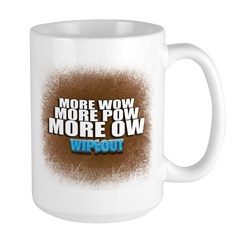 Wipeout More Wow Mug