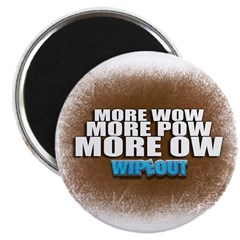 Wipeout More Wow Magnet
