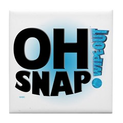 Oh Snap! Tile Coaster