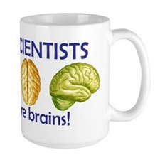 Large More Brains Mug
