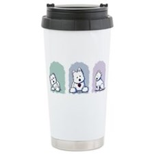 Westie Pastel Trio Travel Coffee Mug