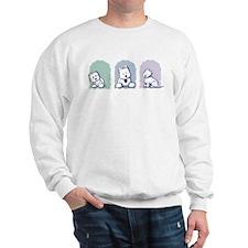 Westie Pastel Trio Sweatshirt