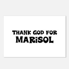 Thank God For Marisol Postcards (Package of 8)