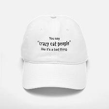 cat-people Baseball Baseball Cap