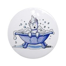 Muggles Bath Ornament (Round)