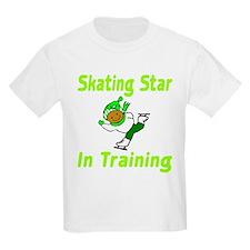 Skating Star in Training Emma Kids T-Shirt