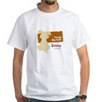 Throw Ball II White T-Shirt