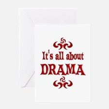 Drama Greeting Card
