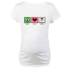 Peace Love Coffee Shirt