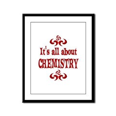 Chemistry Framed Panel Print