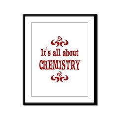 Chemistry Framed Panel Print