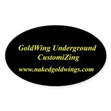 GoldWing Shop #UnderGround Oval Decal