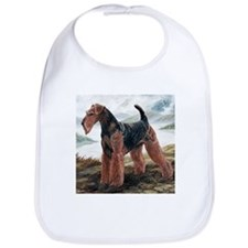 Airdale Terrier by the Lake Bib