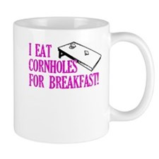 I Eat Cornholes for Breakfast Mug