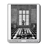 Mousepad, Death of Harlequin, from Agatha Christy
