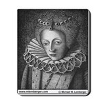 Mousepad, Queen Elizabeth 1st, England