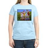 Wine humor stomping grapes Women's Light T-Shirt