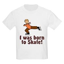 Born to Skate Christopher Kids T-Shirt