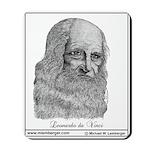 Mousepad, Leonardo da Vinci,