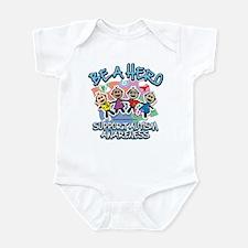 Autism Be A Hero Infant Bodysuit