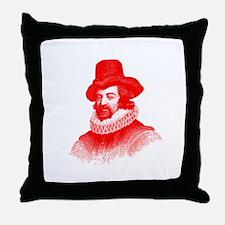 Sir Francis Bacon Throw Pillow