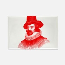Sir Francis Bacon Rectangle Magnet (10 pack)