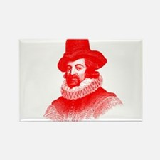 Sir Francis Bacon Rectangle Magnet