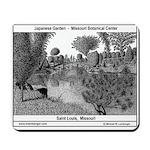 Mousepad, Missouri Botinical Garden, Pen & Ink