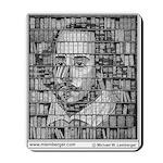 Mousepad, Shakespeare Bookcase,
