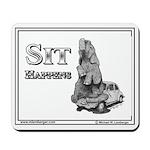 Mousepad, SIT HAPPENS, Elephant on VW