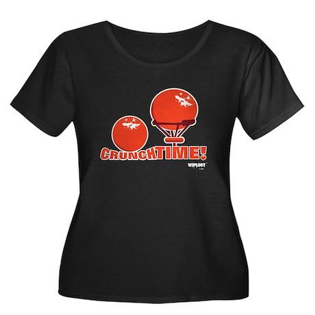 Crunch Time Women's Plus Size Dark T-Shirt