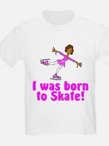 Born to Skate Olivia Kids T-Shirt