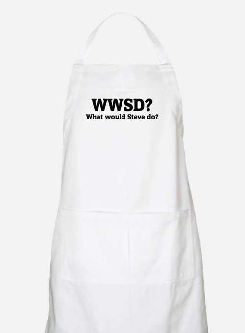 What would Steve do? BBQ Apron