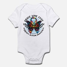Autism Tribal Butterfly 2 Infant Bodysuit