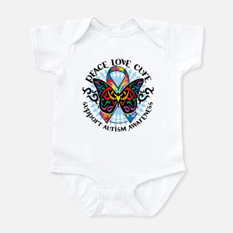Autism Tribal Butterfly 2 Infant Bodysuit