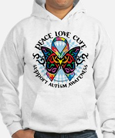 Autism Tribal Butterfly 2 Hoodie